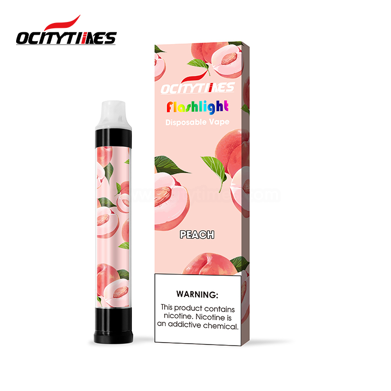 Manufacturer OEM/ODM LED Flash Disposable Pod Vape 1000Puffs Nicotine Salts Made by Ocity Times