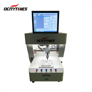 Ocitytimes F8 computer control high quality long time use cbd oil filling machine