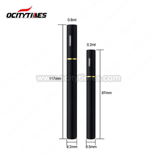 0.2ml 0.8ml cbd oil disposable e-cigarette empty