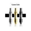 Top adjustable airflow dual coil glass cartridge